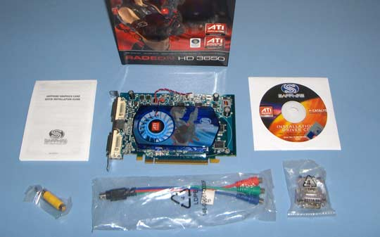 Radeon HD3650 DDR2 512 MB