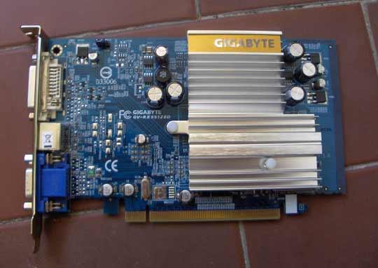 Gigabyte Radeon x550