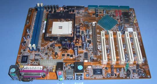 Abit KU8 motherboard