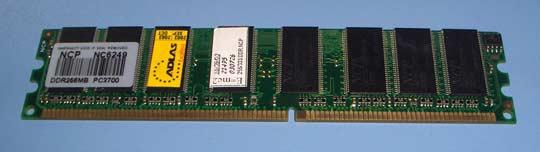 NCP 256 MB DDR333 Adlas