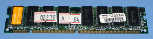 SD SDR PC-100 64MB