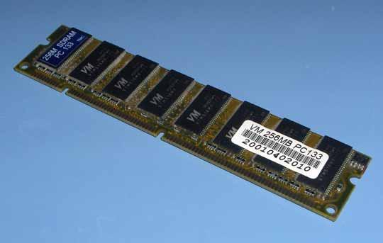 VM SDR pc133 256 MB