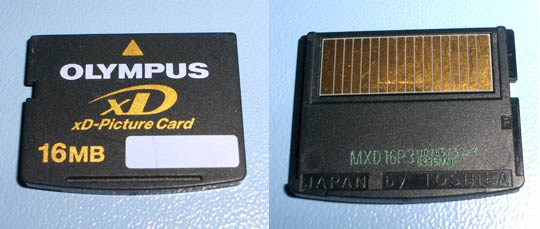 xD-Picture Card 16 MB