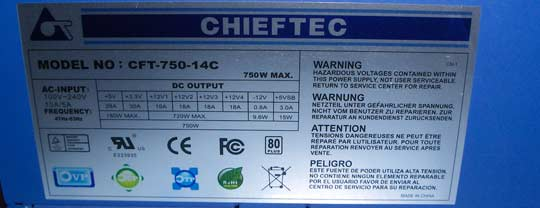 Chieftec modular