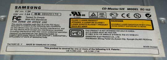Samsung CD-Master 52E