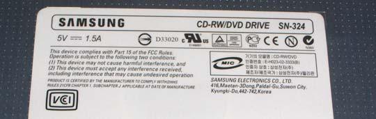 Samsung slim combo
