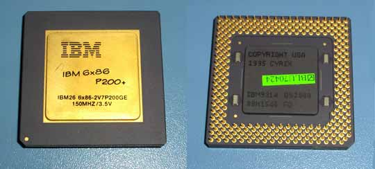 IBM 6X86 P200+