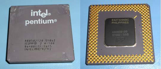 Intel pentium 120 MHz