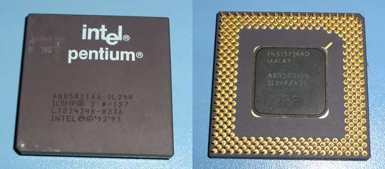 Pentium 166 MHz SL24R
