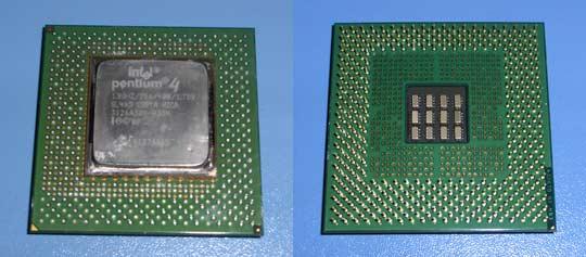Pentium 4 1.8 Willamette sck423