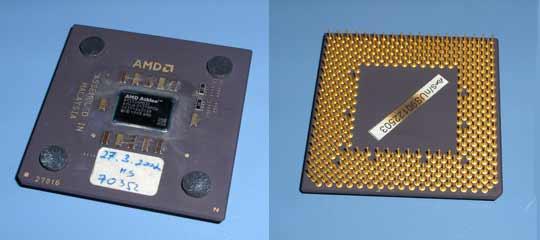 AMD Athlon 1.33 GHz Thunderbird