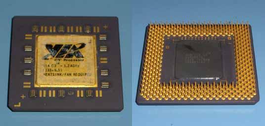 VIA C3 1.2A GHz Nehemiah