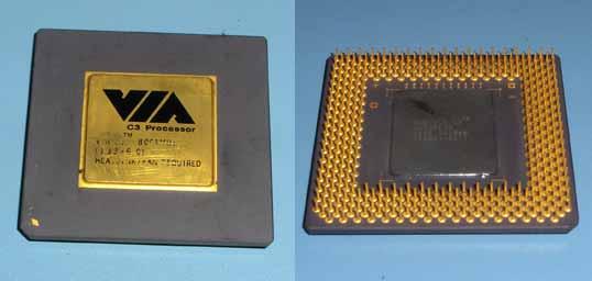 VIA C3 800A MHz