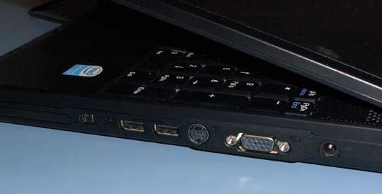 notebook ports