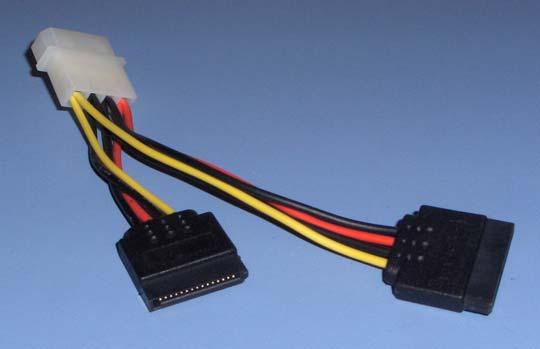 SATA  Y power adapter