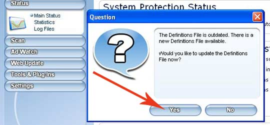 Definitions file